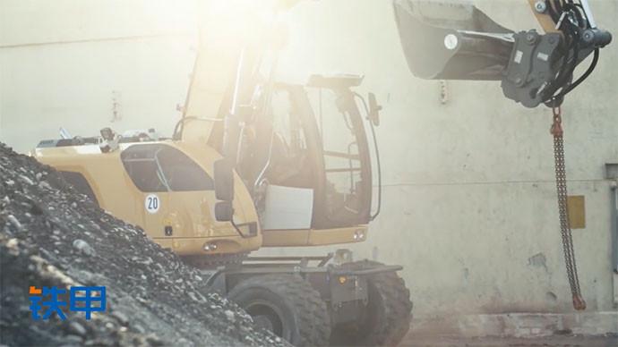 【眼界】威武雄壮!挖掘机还有这么一副面孔?看利勃海尔A918