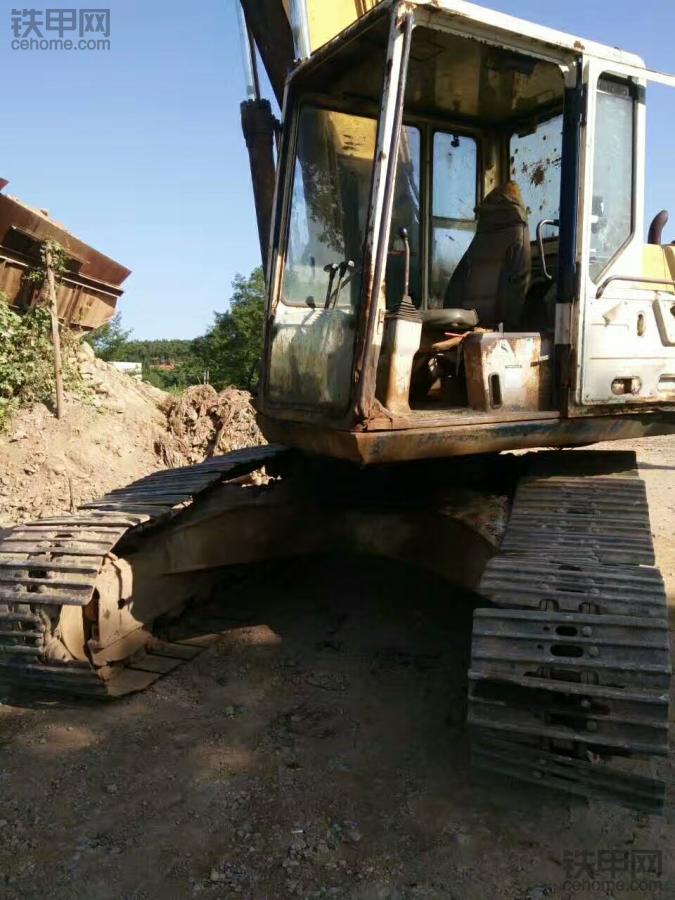我是80后:開了20年挖掘機,玩兒遍4代小松