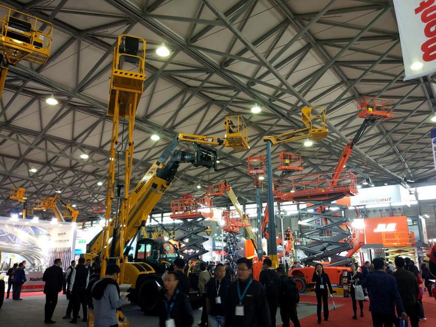 2017首届亚洲国际高空作业机械展览会(APEX Asia)开幕