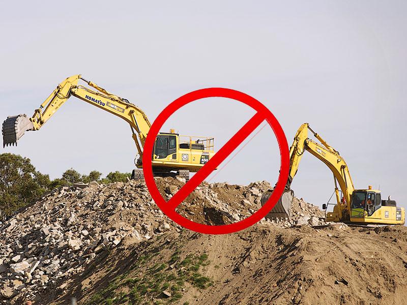 """史上最嚴""""停工令""""降臨:開挖掘機的直呼傷不起!"""
