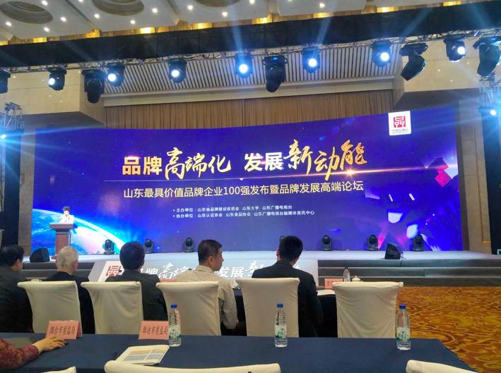 """中國品牌日  祝賀山東臨工入選""""山東最具價值品牌企業100強""""榜單"""