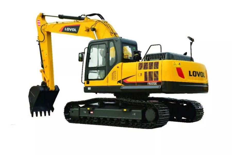 【产品】备受用户青睐的雷沃FR220E挖掘机