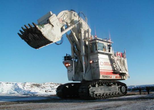 超大型液压挖掘机发展