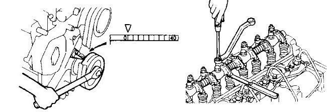 挖機氣門的調整方法[維修師傅分享]