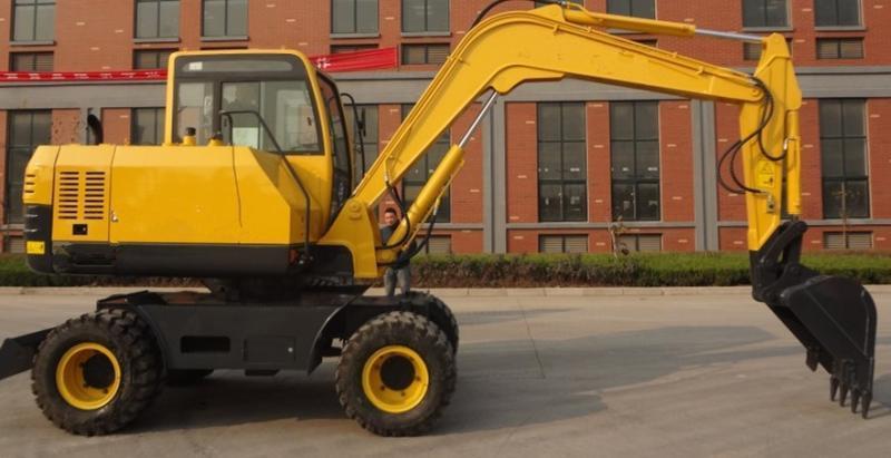 論,輪式挖掘機的使用前景