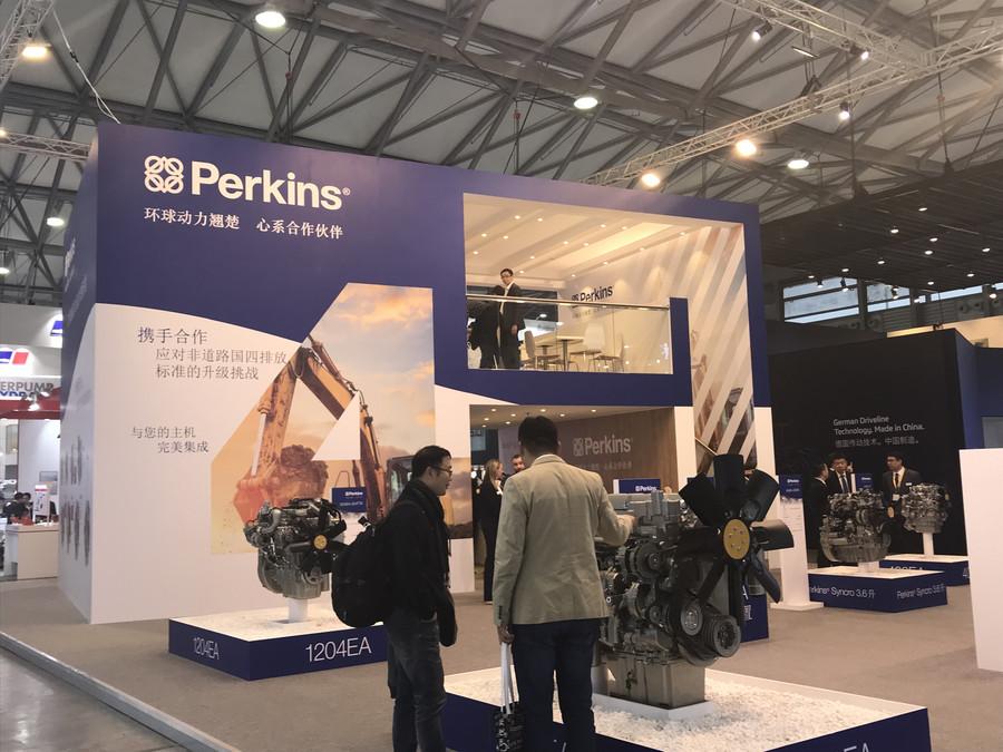 bauma CHINA 2018:战国四 亮神器 Perkins展现动力领导品牌风范