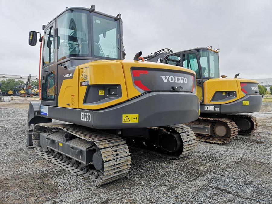 沃尔沃挖掘机怎么样:小挖新品ec75d产品特点