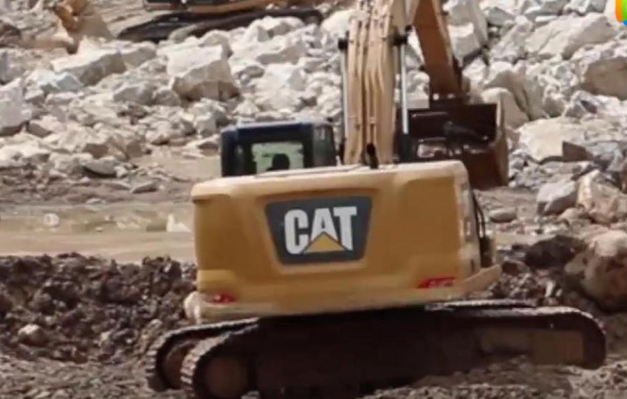 卡特彼勒挖掘机用户故事