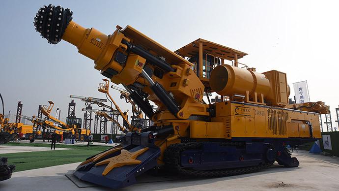 中铁工业CTR450高原型悬臂掘进机