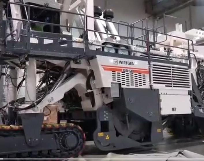 拉斯維加斯礦山機械展-維特根冷銑刨機