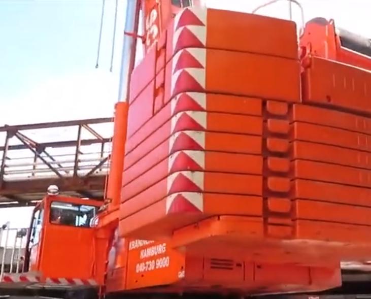 500噸的全路面起重機,基建領域的得力工程機械
