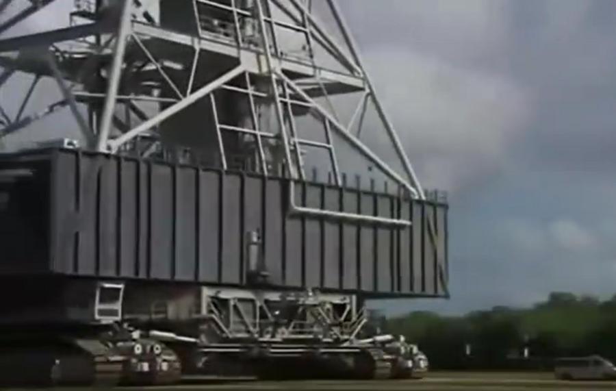 霸气!几千吨运载能力的超级机械平台