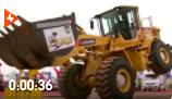 见过汽车漂移,你见过这些铲车挖掘机漂移跳动写手法吗,科技的可