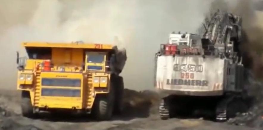 礦山卡車起火如何救援?