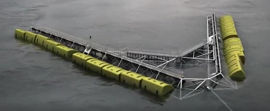 少見的現代海上超級工程,很好奇它們是用來干嘛的