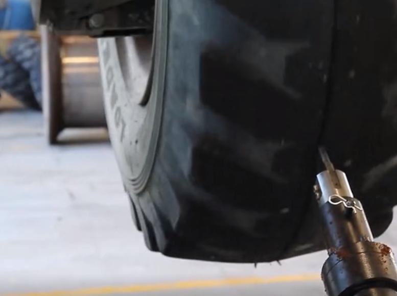 工程機械的輪胎,內部是什么樣子?