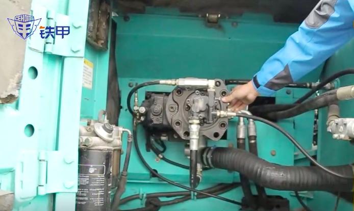 《老李哥大講堂》第四集 檢查二手挖機的液壓系統