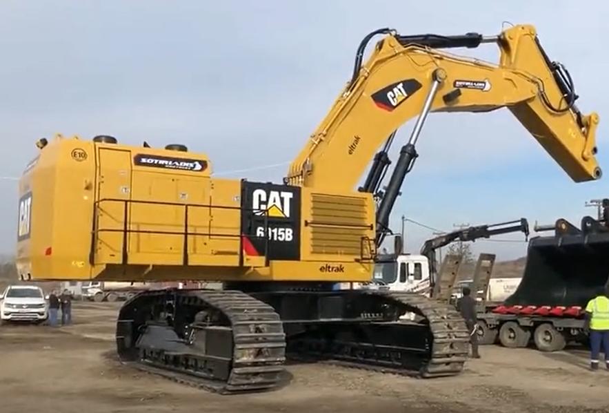 价值百万的大型挖掘机,第一次下工地干活!