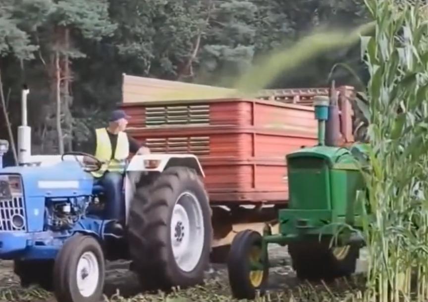 不多见的农业机械,第一个我就服了,最后一个才有意思!