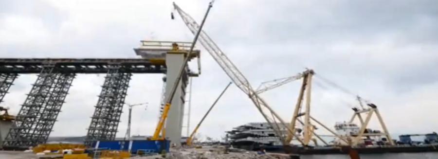 超級工程: 如何修建一座跨海大橋, 整個過程看懵很多人