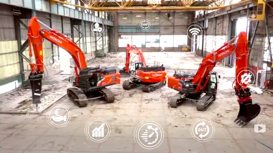 日立新款Zaxis-7系列挖机全面公开