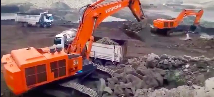 日立890挖掘機,很好奇,這種大車,為什么鏟斗才裝5個斗齒?
