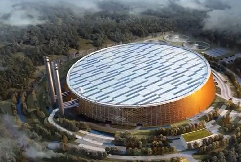 """深圳再造""""超級工程"""",日吃5000噸垃圾,長得就像中國天眼!"""