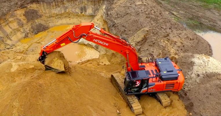 日立新款Zaxis-7系列挖機全面公開