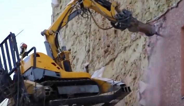 專吃混凝土的奇葩機器人,拆房子扔個進去啥都不用管!