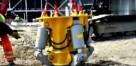 專門對付混凝土樁的工程機械,這才是一場硬碰硬的較量