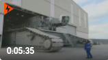 世界最高的履带起重机,德国利勃海尔制造,3371吨配重