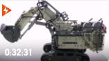 科技机械系列之利勃海尔R9800挖掘机结构搭建