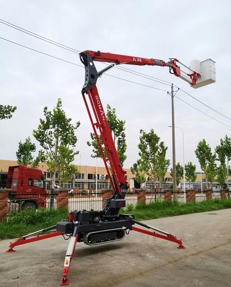 Goman Lift推出X18D履帶式高空作業平臺