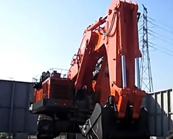 世界最大级别液压挖掘机——日立建机EX8000