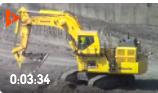 實拍:小松PC2000巨無霸挖掘機,看看它的鏟斗有多大?