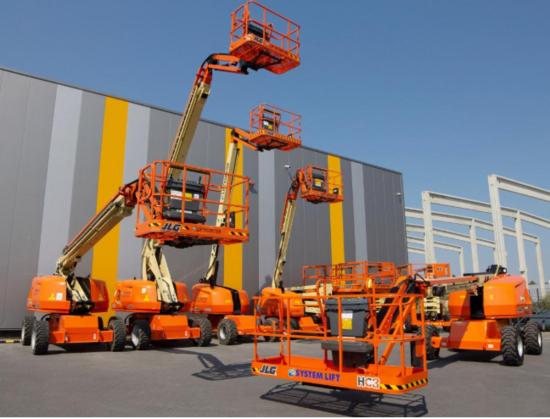 德國獨立租賃公司協會(System Lift)接收560臺JLG設備