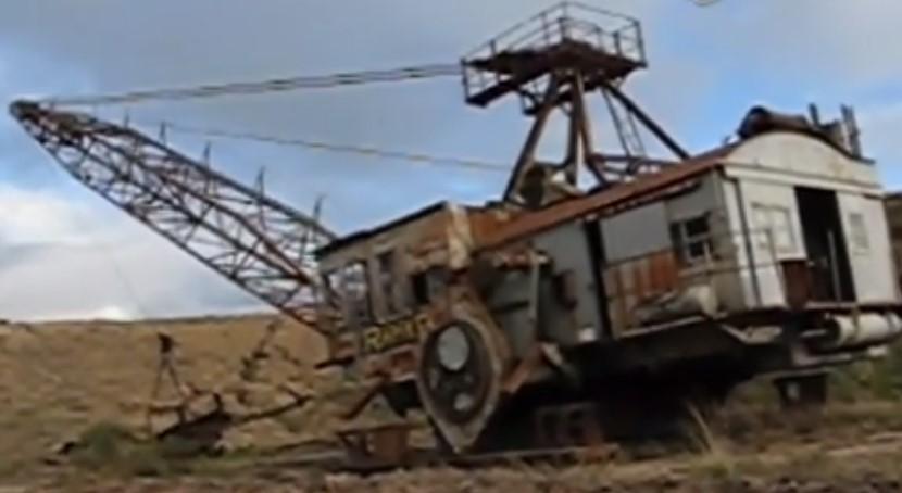 蒸汽機挖掘機
