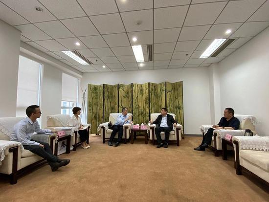BICES 2021走进系列报道之机械贸促会拜访四川省和成都市贸促会等有关单位