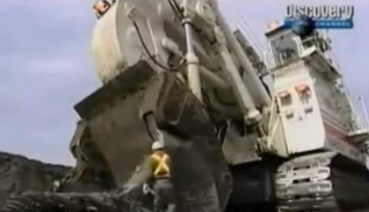 十大工程机械第4名:特雷克斯RH400液压挖土机