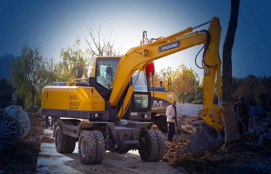 輪式挖掘機土方作業效率低?是你沒用對地方