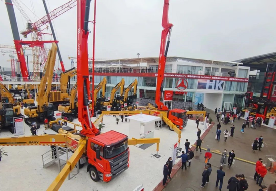 bauma CHINA 2020|三一泵車新品組團來襲,全面法規,上牌無憂