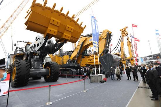 bauma CHINA2020 | 全球前三!徐工35噸級超大噸位裝載機XC9350全球發布