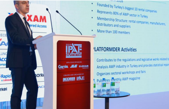 IPAF與土耳其租賃協會簽署協議