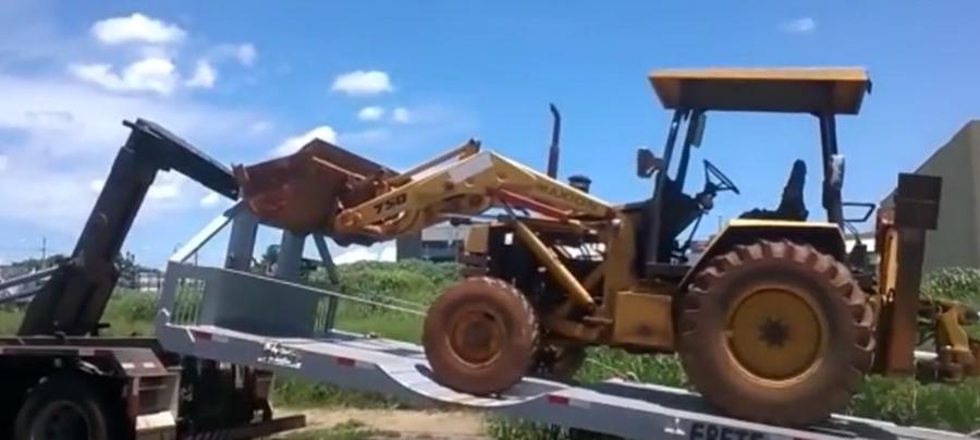 重型运输板车,工程机械车运输
