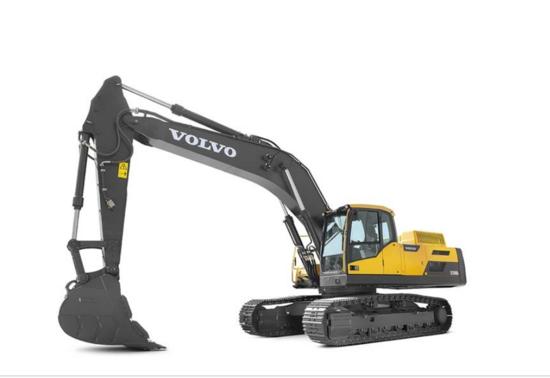 沃爾沃EC350D/DL履帶式挖掘機 | 強勁高效,堅實可靠的工作利器