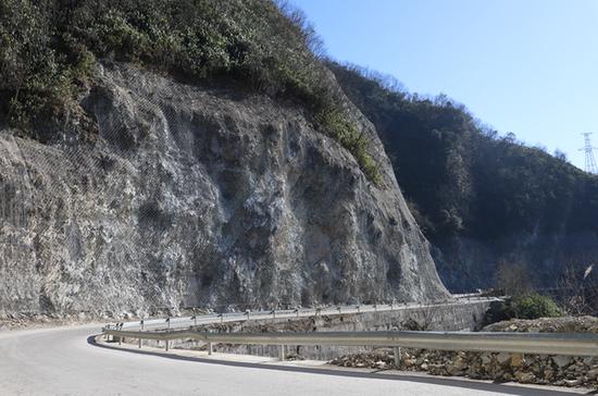【工程】湖南恩施鶴峰:省道341邊坡治理工程已完成85%