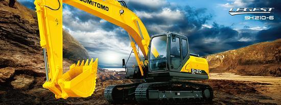 【評測】甲友評車之:住友SH210-6挖掘機