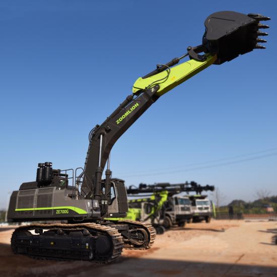 【看機說車】中聯重科礦用挖掘機ZE700G