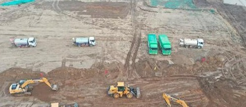 雄安容城一批重點項目開工建設!