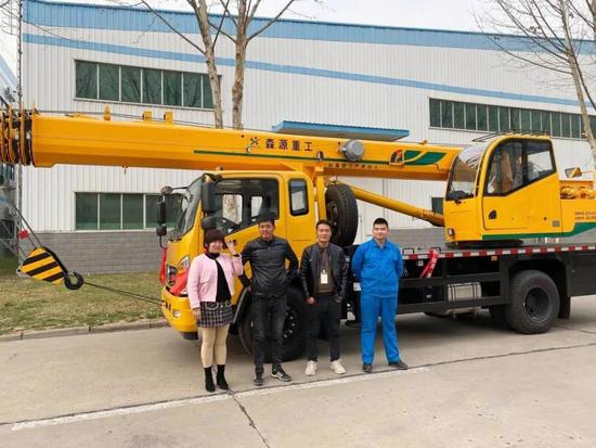 森源12吨、小12吨(国六)起重机发往河南许昌、周口地区!